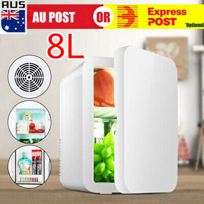AU57.33 • Buy 8L Portable Mini Fridge Table Top Electric Small Cooler Bedroom Ice Box Office