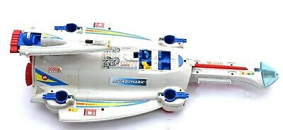 Vintage Manta Force Astro Shark SpaceShip With Figures Rare Bluebird Toy Vehicle • 22.38£