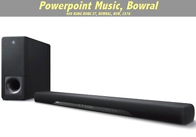 AU599 • Buy Yamaha YAS207B Virtual X SOUNDBAR 2.1 Ch With Wireless Subwoofer