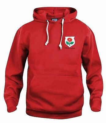 Manchester United 1909 Retro Football Hoodie Embroidered Crest S-XXXL • 29£