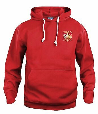 Manchester United 1963 Retro Football Hoodie Embroidered Crest S-XXXL • 29£