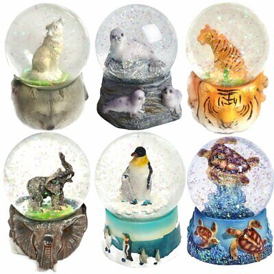 Snow Globe Decoration - Animals Designs - Christmas Birthday Gift Idea • 12.99£