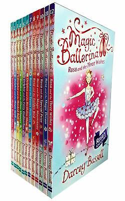 £17.99 • Buy Magic Ballerina Series 12 Books Collection Set By Darcey Bussell (Books 1-12)