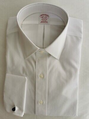 Brooks Brothers Madison Classic Fit Dress Shirt, Tennis Collar French Cuff 16.5  • 29.50£