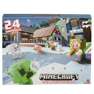 AU68.40 • Buy Minecraft 2020 Advent Calendar For Kids Xmas Birthday Gift 2020 New Design HH