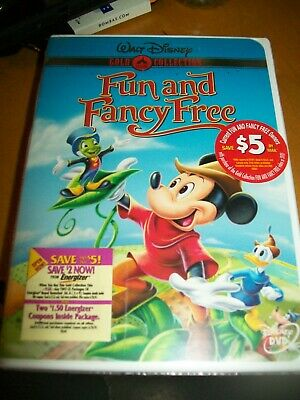 £18.15 • Buy Fun And Fancy Free (DVD 2000 Gold Collection) RARE BRAND NEW W BUENA STAMP