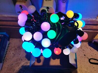 5M Muti Color Electric Plug-in 50 LED Berry Ball Xmas Fairy String Lights Party  • 8.99£