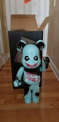 $1111 • Buy BE@RBRICK THE JOKER 1000% WHY SO SERIOUS, Ver. 1000%, Authentic, Medicom Toy