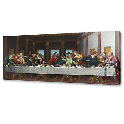 £19 • Buy The Last Supper Canvas Print Picture Wall Art Free Fast Uk Delivery