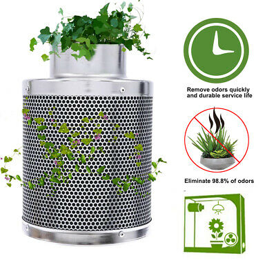 AU55 • Buy Grow Tent Kit 6  Hydroponics Ventilation Kit Fan Activated Carbon Filter AU