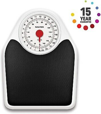 Salter 145bkdr Doctors Style Mechanical Bathroom Weighing Scales, 15yr Guarantee • 29.89£