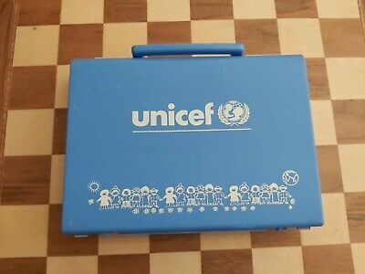 $ CDN34.30 • Buy VERY RARE Vintage UNICEF Toddler Cube Puzzle COMPLETE With Original Carry Case