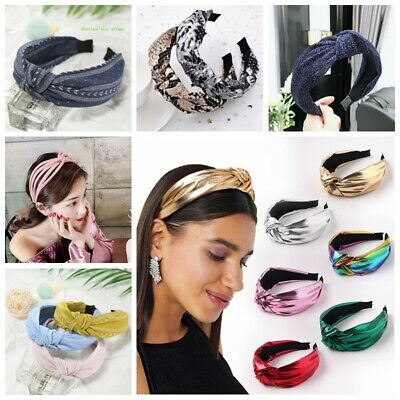 $ CDN3.12 • Buy Women's Girl Hairband Twisted Knot Headband Headwrap Hair Band Hoop Accessories
