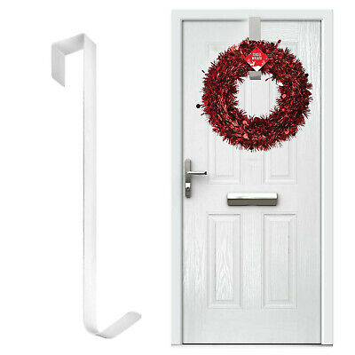 🎅Over Door Hanger Wreath Christmas Hook Xmas Decoration Strong Metal Holder UK • 3.95£