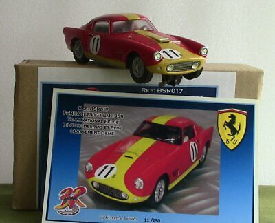 Like Scalextric: BSR Ferrari 250 GT #11 3rd LM '59 New/boxed - See Close-ups! • 99£