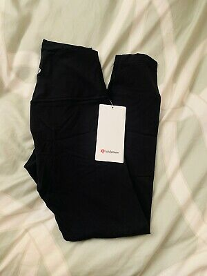 $ CDN115.48 • Buy Lululemon Align Pants 25  HIGH RISE BLACK Nulux Fabric Size 2 4 6 8 10 12 NWT