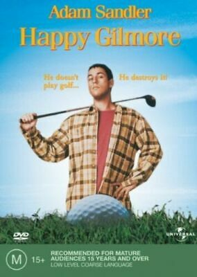 AU14.50 • Buy HAPPY GILMORE (1996) NEW DVD Rated M Adam Sandler Classic Free Tracked Post