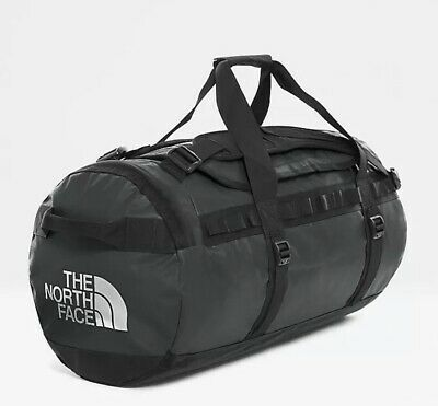 The North Face Black Base Camp Duffel Bag Medium (Black) 71 Litres NEW With Tags • 94.99£