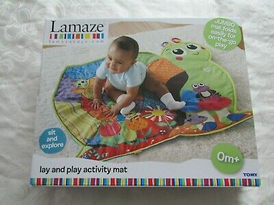 Tomy Lamaze Lay And Play Activity Mat - Boxed, Used But In Very Good Condition • 8.99£