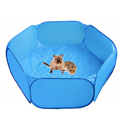 Heppurg Guinea Pig Playpen Indoor Run Pen Hamster Playpen Small Animal Play Pen • 16.49£
