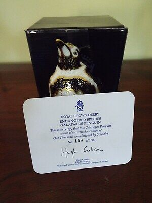 Royal Crown Derby Galapagos Penguin - Limited Edition Of 1,000 • 125£