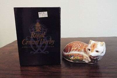Royal Crown Derby Leicestershire Fox • 80£
