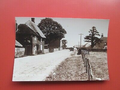 Hoath (Nr. Herne Bay): Repro. Postcard Of Village Street (c. 1920s) • 1.49£