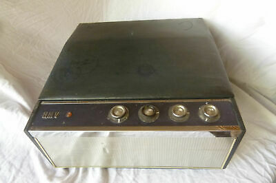 Vintage HMV 2012 PORTABLE RECORD PLAYER GARRARD 2000 AUTOCHANGER 1960's Untested • 27.99£