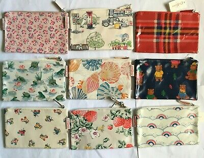 Cath Kidston Zip Purse / Make Up Bag / Pencil Case / New With Tags • 8.99£