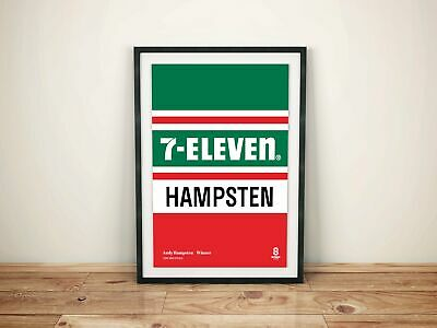 AU26.74 • Buy Andy Hampsten 7-Eleven - Vintage Cycling Team Print