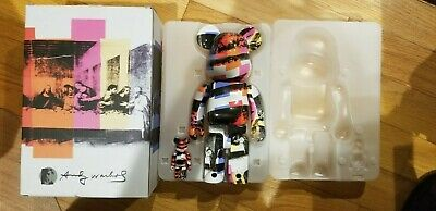 $250 • Buy BE@RBRICK Andy Warhol The Last Supper 100% 400% Set, Authentic, Medicom Toy