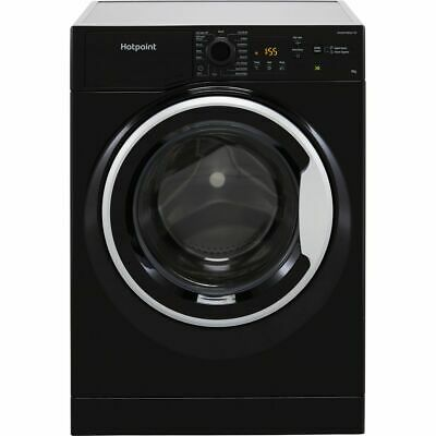 View Details Hotpoint NSWM963CBSUKN A+++ Rated 9Kg 1600 RPM Washing Machine Black New • 309.00£