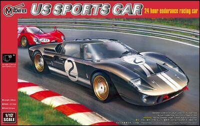 Magnifier 1/12 Ford GT40 Mk.II 1966 Le Mans Winning GT Coupe # 00019 • 94.99£