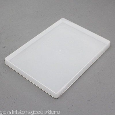 Clear Plastic A4 Slim Craft Paper/Card Storage Boxes • 4.99£