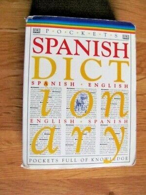 Pocket Spanish Dictionary From DK • 2£