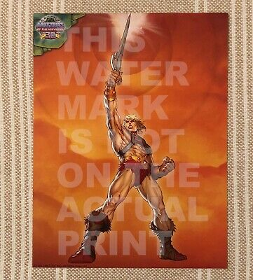 $9.99 • Buy He-Man MOTU Masters Of The Universe 30th. 8x10.5in Print By Alvin Lee