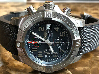 $5150 • Buy Breitling Avenger Bandit Chronograph E1338310-M534 Deployed Buckle Box Papers