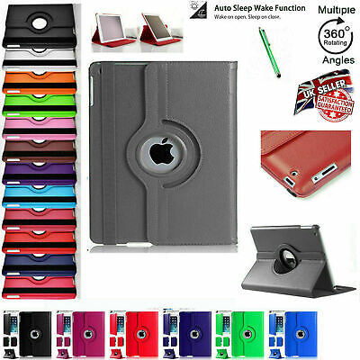 £5.95 • Buy For Apple IPad 10.2  (2020) 8th Generation 360° Rotating Leather Slim Case Cover