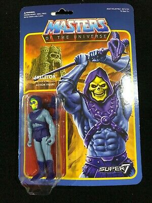 $24.95 • Buy Masters Of The Universe ReAction Super7 3.75 Action Figure Skeletor He-Man MOTU