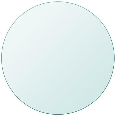 AU39.90 • Buy Dining Coffee Table Top Tempered Glass Round 400mm, Thickness: 8mm Transparent