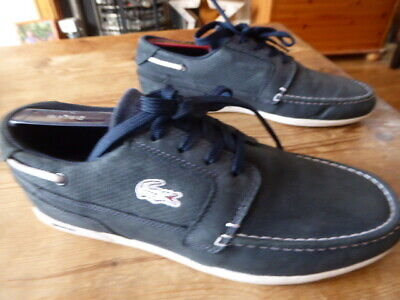 Mens LACOSTE Dreyfus Boat Shoes/trainers - Size Uk 7 Great Condition • 29.99£