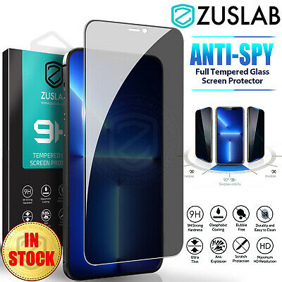 AU9.95 • Buy IPhone 12 11 Pro Max Mini XR X Privacy Tempered Glass Screen Protector For Apple