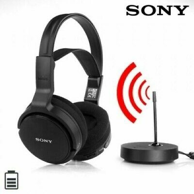 Sony MDR-RF811 RF Frequency Wireless Over Ear Stereo Headphones For TV Music New • 54.75£