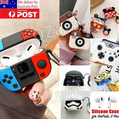 AU12.85 • Buy Apple AirPods 3 Pro 3D Silicone Case Protective Cover Cute Game Designer Case