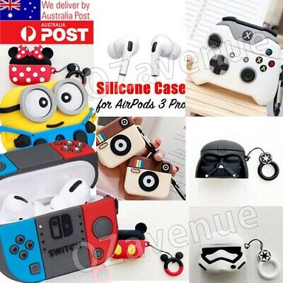 AU12.85 • Buy Cute Airpods 3 Pro Shockproof Silicon Gel Case Cover Airpod Nintendo Cartoon AU