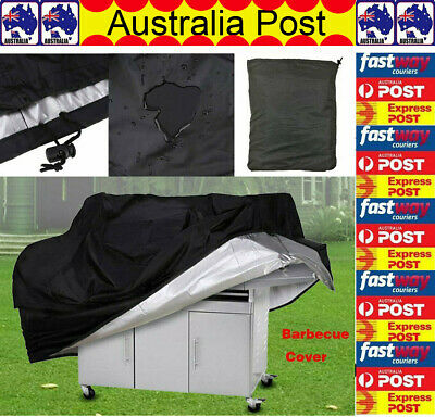 AU20.96 • Buy BBQ Grill Cover 2 4 Burner Waterproof Outdoor UV Gas Charcoal Barbecue Protector