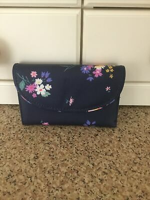 Cath Kidston Navy Floral Purse/wallet Nwot • 13.50£