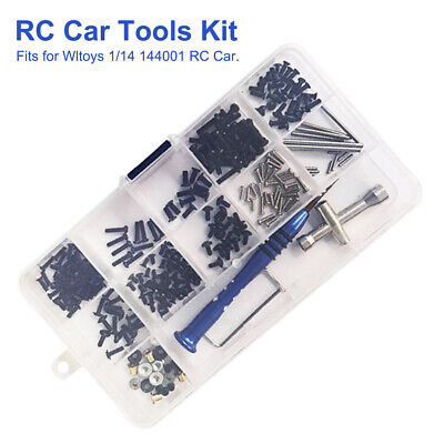 RC Car Tools Kit Cross Screwdriver DIY With Box Portable For Wltoys 1:14 144001 • 8.88£