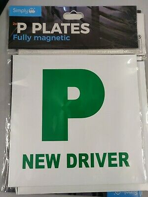 2x Fully Magnetic P Plates • 2.20£