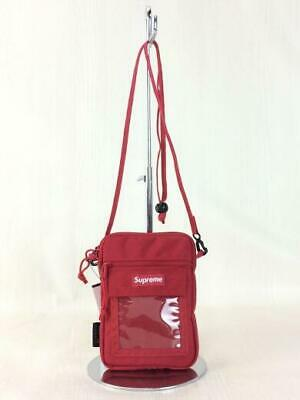 $ CDN351.81 • Buy Supreme 19Ss Nylon Red Red Shoulder Bag 6853 Fashion From Japan